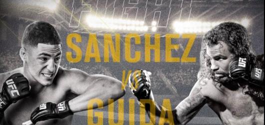 Gevecht Diego Sanchez vs. Clay Guida in de UFC Hall of Fame