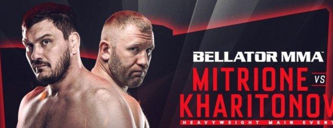 """Matt Mitrione vs. Sergei Kharitonov rematch in augustus"""