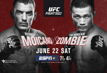 Uitslagen : UFC on ESPN+ 12 Greenville : Moicano vs. The Korean Zombie