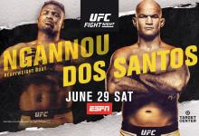 Uitslagen : UFC on ESPN 3 : Ngannou vs. Dos Santos