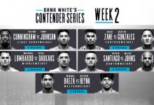 Uitslagen : DWCS Season 3 Week 2 : Cunningham vs. Johnson