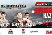 Uitslagen : M-1 Challenge 102 : Rakhmonov vs. Lacerda