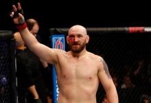 Zak Cummings vs. Alessio Di Chirico toegevoegd aan UFC evenement op 29 augustus