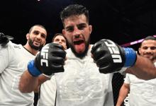 Nasrat Haqparast vs. Drew Dober toegevoegd aan UFC evenement in 2020