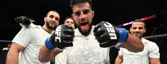 Nasrat Haqparast treft UFC nieuwkomer Alexander Munoz op 8 augustus