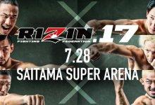 Uitslagen : RIZIN FF 17 : Saitama