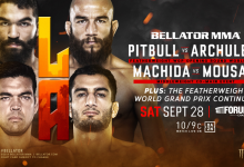 Machida vs. Mousasi 2 officieel voor Bellator 228 in Inglewood, Californië