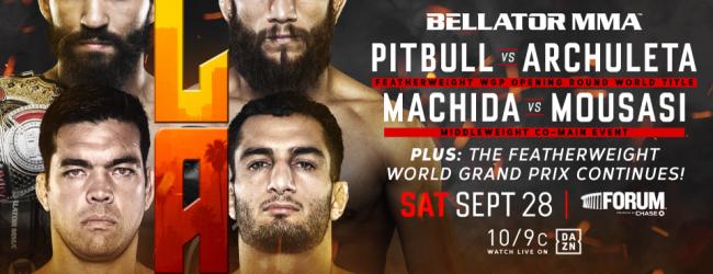 Machida vs. Mousasi 2 officieel voor Bellator 228 in Inglewood, Californië