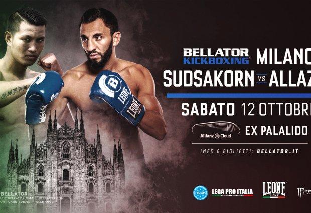Sudsakorn Sor Klinmee vs. Chingiz Allazov is het Main Event van Bellator Kickboxing 12