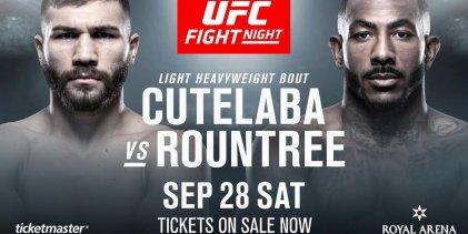 Ion Cutelaba vs. Khalil Rountree Jr. officieel bevestigd voor UFC Kopenhagen