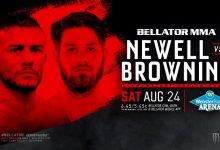 Nick Newell tekent bij Bellator en maakt zijn debuut op 24 augustus