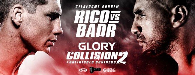 Woensdag 31 juli start de reguliere kaartverkoop voor Glory : Collision 2