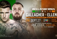Zeven partijen voor Bellator Dublin bekend gemaakt