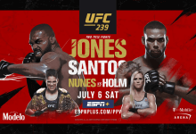 Uitslagen : UFC 239 : Jones vs. Santos