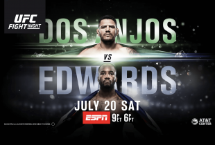 Uitslagen : UFC on ESPN 4 : Dos Anjos vs. Edwards