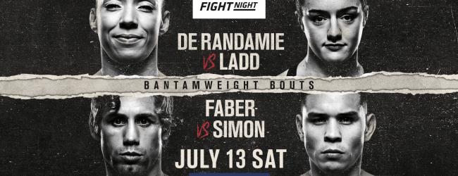 Uitslagen : UFC on ESPN+ 13 Sacramento : De Randamie vs. Ladd