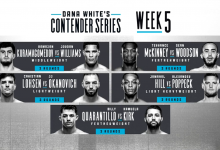 Uitslagen : DWCS Season 3 Week 5 : Kuramagomedov vs. Williams