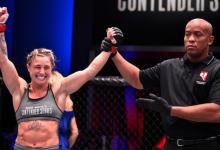 Hannah Goldy treft Miranda Granger over anderhalve week tijdens UFC Newark