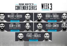 Uitslagen : DWCS Season 3 Week 3 : Wallace vs. Solecki