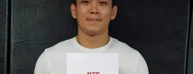 Saparbeg Safarov treft nieuwkomer Da Un Jung tijdens UFC Shenzhen
