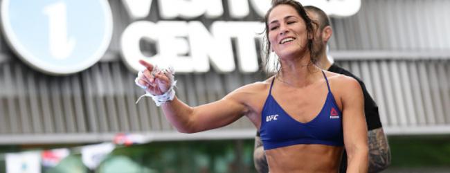 Jessica Eye vs. Viviane Araújo eerste bekende gevecht voor UFC 245 in Las Vegas