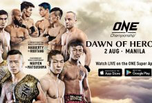 Uitslagen : ONE Championship 98 : Dawn of Heroes