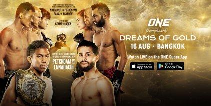 Uitslagen : ONE Championship 99 : Dreams of Gold