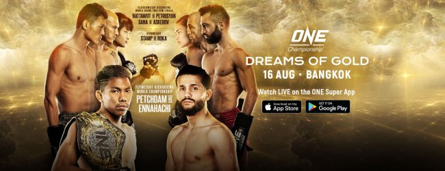 Uitslagen : ONE Championship 99 : Dreams of Gold