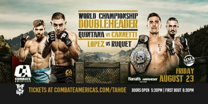 Uitslagen : Combate Americas 42 : Lopez vs. Ruquet
