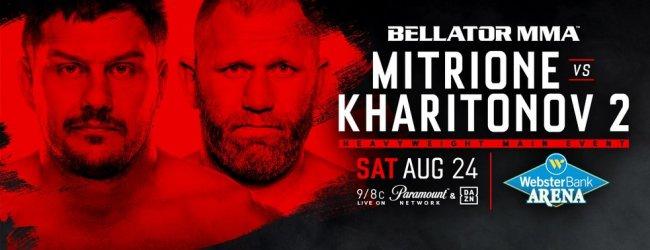 Uitslagen : Bellator 225 : Mitrione vs. Kharitonov 2