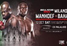 Melvin Manhoef vs. Yannick Bahati toegevoegd aan Bellator Milaan
