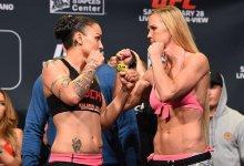 Holly Holm keert tijdens UFC 243 terug tegen Raquel Pennington
