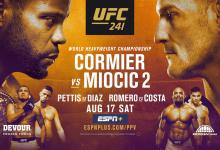 """MMADNA's UFC 241 Preview Podcast : """"De terugkeer van Nate Diaz"""""""