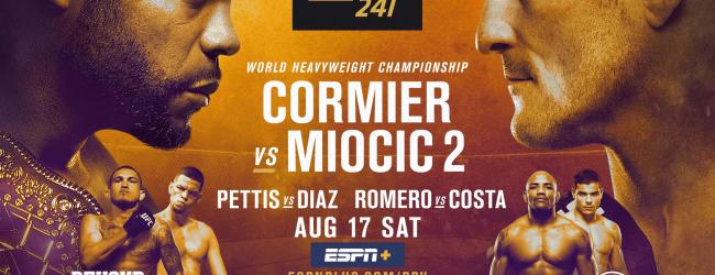 Uitslagen : UFC 241 : Cormier vs. Miocic 2