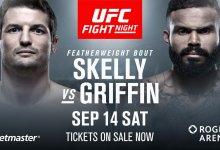 Chas Skelly gaat het opnemen tegen Jordan Griffin tijdens UFC Vancouver