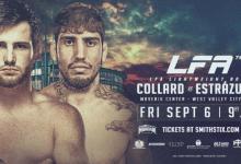Clay Collard vs. Arthur Estrazulas is het Main Event van LFA 75 in West Valley City