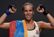Onofficiële titel eliminatie gevecht tussen Katlyn Chookagian en Jennifer Maia tijdens UFC 244