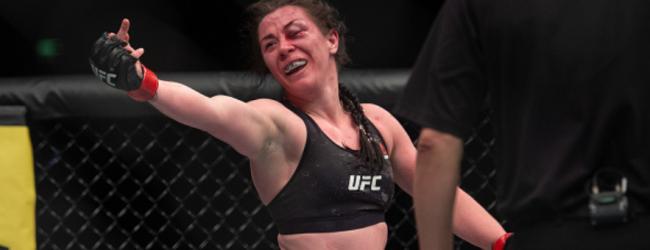 Molly McCann vs. Lara Procopio toegevoegd aan UFC evenement op 6 februari 2021