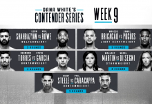 Uitslagen : DWCS Season 3 Week 9 : Shahbazyan vs. Rowe