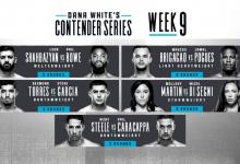 Uitslagen : DWCS Season 3 Week 9 : Shahbazyan vs. Rowe