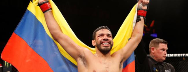 Julio Arce treft Hakeem Dawodu in Featherweightclash tijdens UFC 244 in New York
