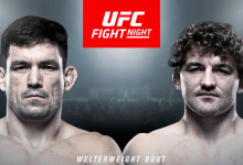 Demian Maia vs. Ben Askren is het Main Event van UFC Singapore