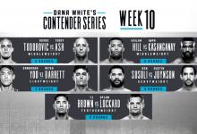 Uitslagen : DWCS Season 3 Week 10 : Todorovic vs. Ash