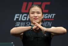 Weili Zhang allereerste Chinese UFC kampioen na snelle finish tegen Jessica Andrade
