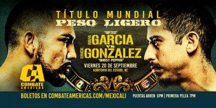 Uitslagen : Combate Americas 43 : Baja