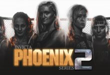 Uitslagen : Invicta FC Phoenix Rising Series 2