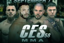Uitslagen : CES MMA 58 : De Jesus vs. Lozano