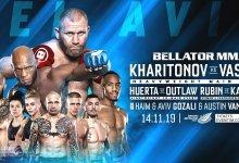 Bellator 234 in Tel Aviv, Israël krijgt Kharitonov vs. Vassell als Main Event