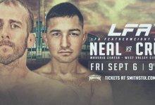 Uitslagen : LFA 75 : Neal vs. Cruz