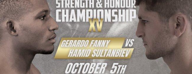 SHC XV verliest titelgevecht na blessure Hamid Sultanbiev